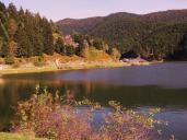 l'automne au lac de Payolle
